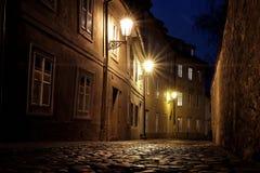 Замок Праги - новый мир Стоковая Фотография RF