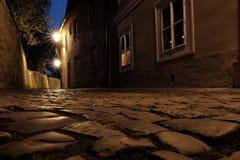 Замок Праги - новый мир стоковые фотографии rf