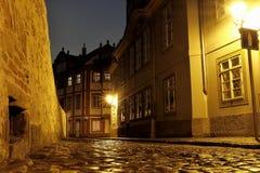 Замок Праги - новый мир стоковое изображение