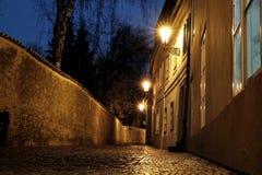 Замок Праги - новый мир Стоковая Фотография