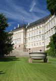 Замок Праги - сад рая стоковые изображения