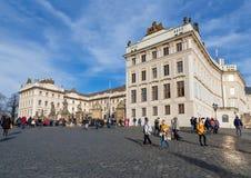 Замок Праги, чехия Стоковое фото RF