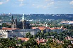Замок Праги Стоковая Фотография RF
