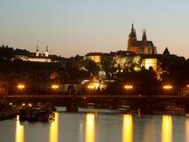 Замок Праги Стоковое Фото