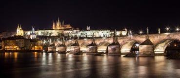 Замок Праги Стоковая Фотография