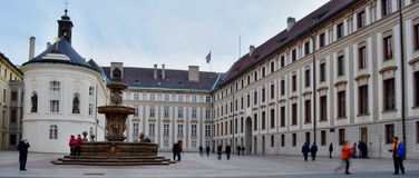 Замок Праги Стоковые Изображения