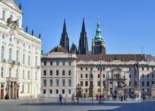 Замок Праги Стоковое Изображение