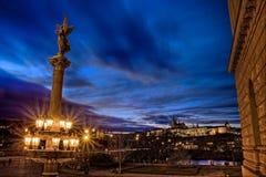 Замок Праги Стоковые Фото