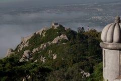 замок причаливает над взглядом Стоковая Фотография RF