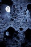 замок пугающий Стоковая Фотография