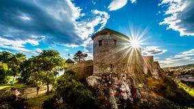 Замок Риека Trsat Стоковое Изображение