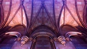 Замок романск Стоковое Изображение RF