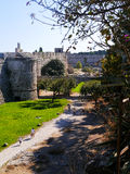 Замок Родоса Стоковые Изображения RF