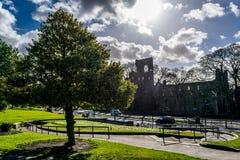 Замок руин Стоковое Изображение