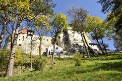 Замок Румыния отрубей Стоковое Изображение RF