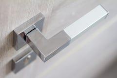 замок ручки двери Ручка двери для двери или шкафа Стоковые Фото