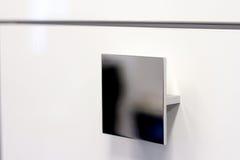 замок ручки двери Ручка двери для двери или шкафа Стоковое Изображение RF