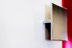 замок ручки двери Ручка двери для двери или шкафа Стоковое Фото