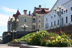 Замок Рыбинска стоковое изображение