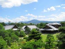 замок садовничает nijo kyoto Стоковая Фотография