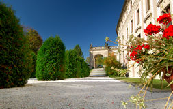 замок садовничает prague Стоковое фото RF