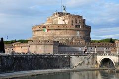 Замок Сан Angelo в Риме, Италии Стоковое Фото