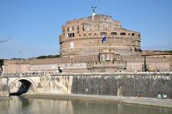 Замок Сан Angelo в Риме, Италии Стоковые Фотографии RF
