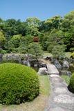 замок садовничает nijo kyoto Стоковое Изображение RF