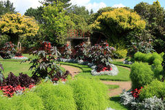 замок садовничает wentworth Стоковая Фотография RF