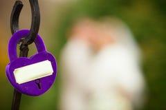 Замок свадьбы Стоковое Изображение