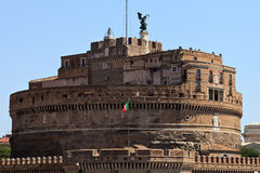 Замок святой Ange Стоковое Изображение RF