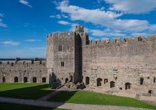 замок северный вэльс caernarfon Стоковые Изображения RF