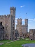 замок северный вэльс caernarfon стоковые фотографии rf