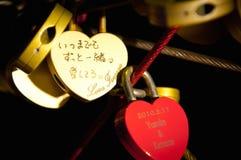 Замок сердца в парке Японии Стоковая Фотография