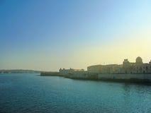 Замок Сиракуза стоковое фото