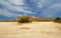 Замок Сиракуз. Сицилия, Италия. стоковые фото