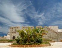 Замок Сиракуз. Сицилия, Италия. стоковое изображение