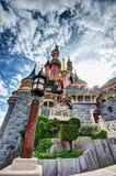 Замок сказки в Франции стоковое фото rf