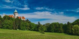 Замок сказки Стоковая Фотография