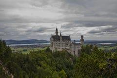 Замок сказки Стоковое фото RF