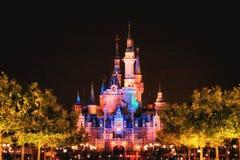 Замок сказки Стоковая Фотография RF