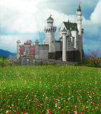 Замок сказки Стоковое Фото