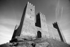 Замок снизу стоковое фото