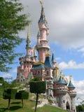 Замок спать красотки, Диснейленд Париж (Франция) Стоковое фото RF