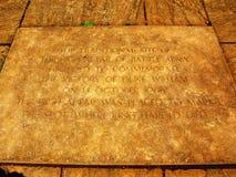 Замок сражения заземляет мемориал Стоковое фото RF