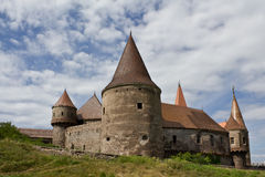 замок средневековый Стоковое Изображение