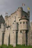 замок средневековый Стоковое фото RF