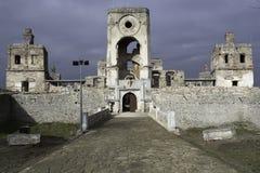 замок средневековый Стоковое Изображение RF