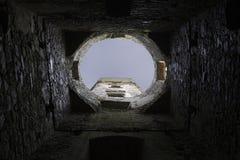 замок средневековый Стоковые Фотографии RF