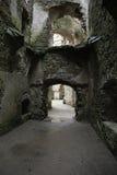 замок средневековый Стоковая Фотография RF